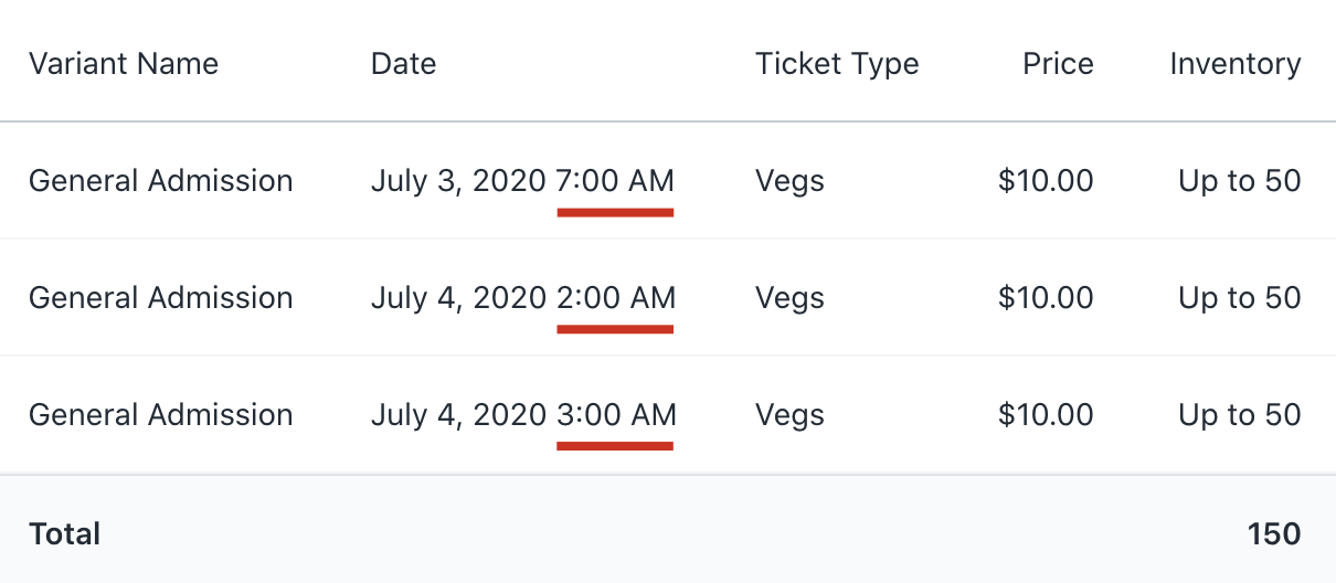 shopify event ticketing