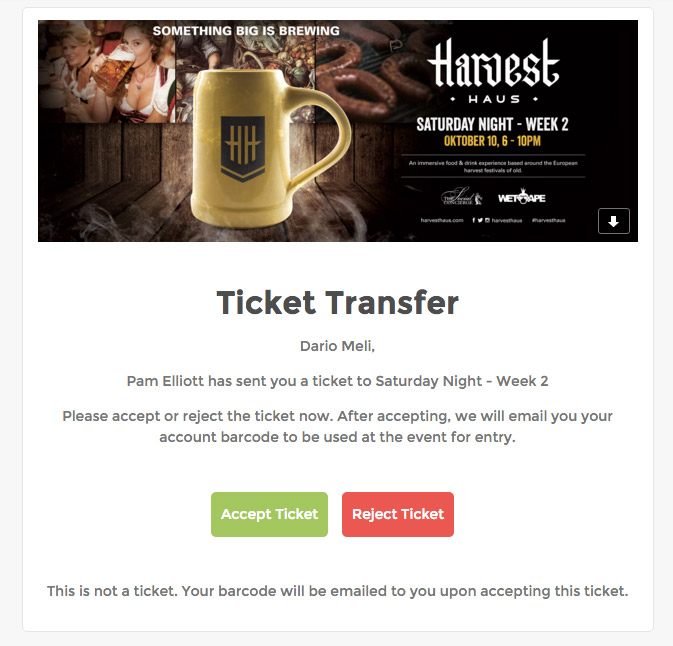 ticket transfer email