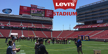 Levi's Stadium Family Day